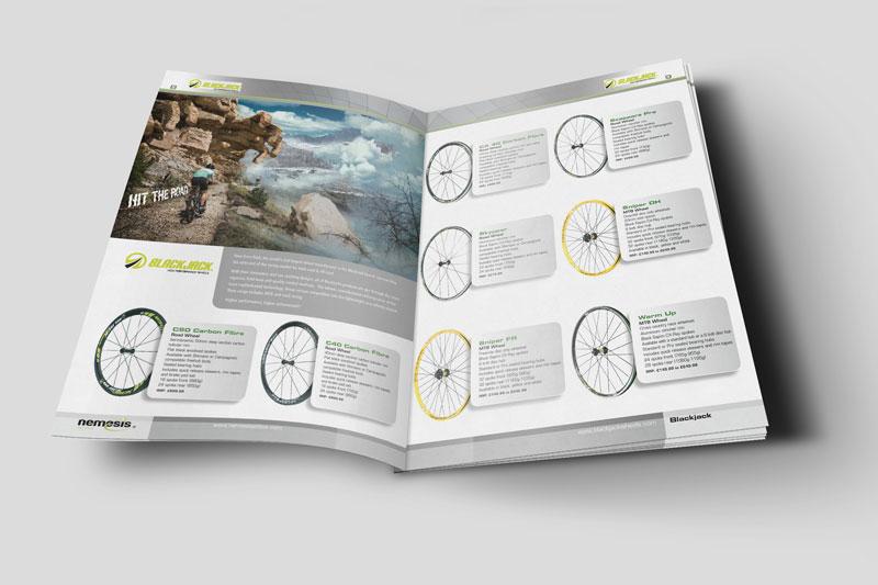 unique brochure designs