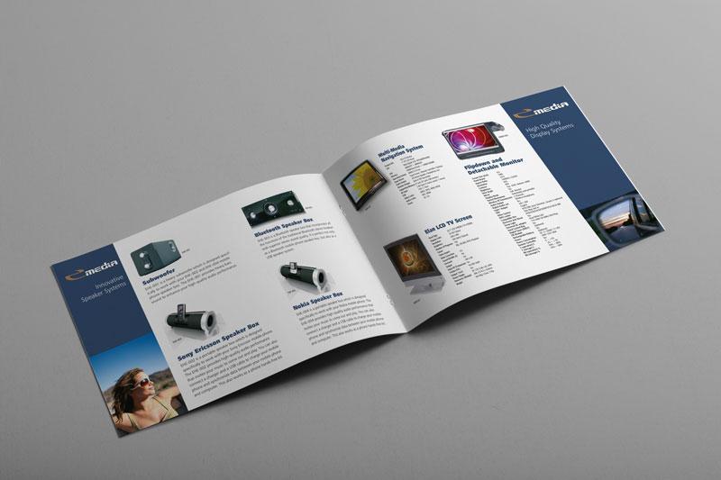landscape brochure design