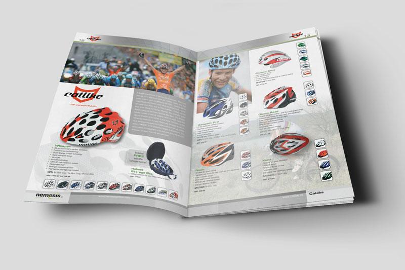 pershore brochure design